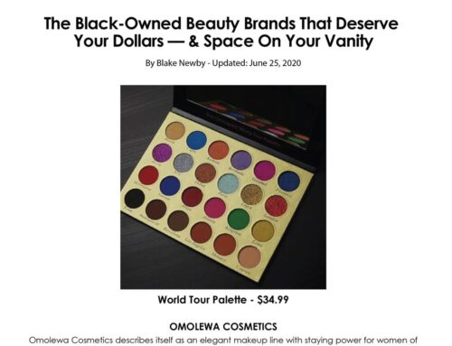 Thezoereport.com – The Black-Owned Beauty Brands That Deserve Your Dollars — & Space On Your Vanity