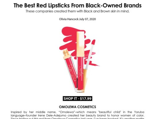 Hellogiggles.com – The Best Red Lipsticks From Black-Owned Brands